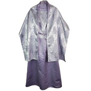 Scott McClintock Purple Maxi Dress Size 12